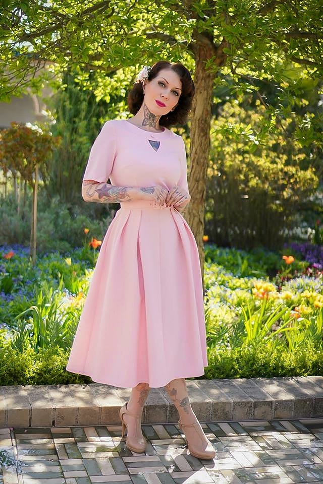 b1dea30b335d Daisy Dapper - 50-tals klänningar, kläder och prylar!