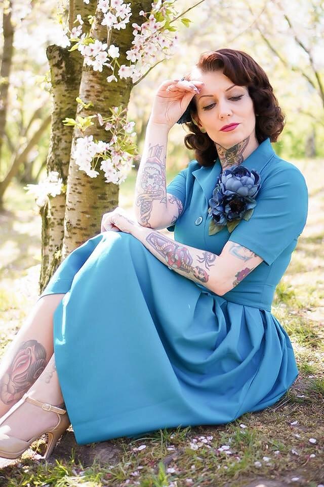 bc077153ba02 Daisy Dapper - 50-tals klänningar, kläder och prylar!