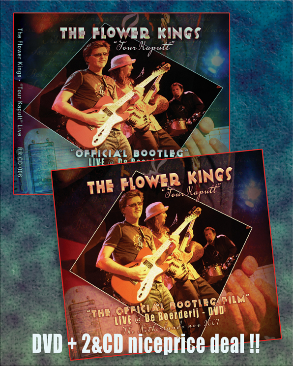 Reingold Records Package Deal Dvd And 2 Cd Audio The Flower Kings