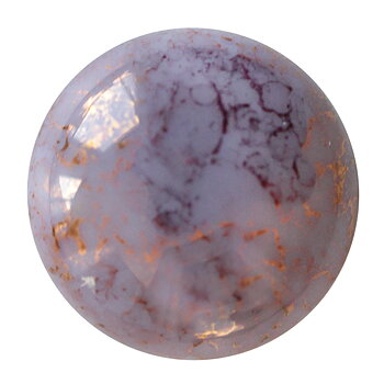 Cabochon par Puca® - Opaque LT Amethyst Bronze 18 mm, 1 styck