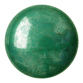 Cabochon par Puca® - Opaque Green Luster 18 mm, 1 styck