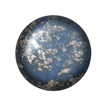 Cabochon par Puca® - Opaque Sapphire Silver 18 mm, 1 styck