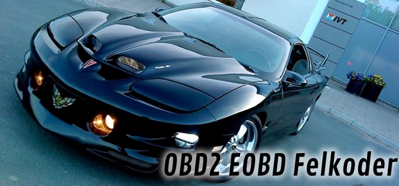 Felkoder OBD2