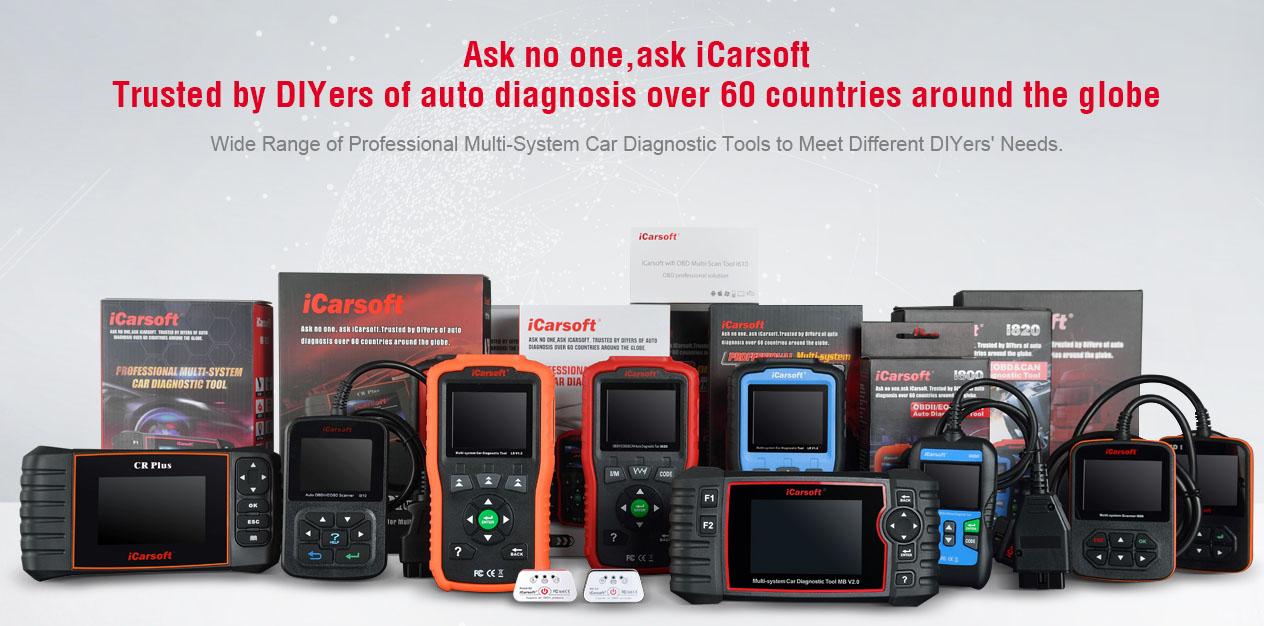 Felkodsläsare iCarsoft