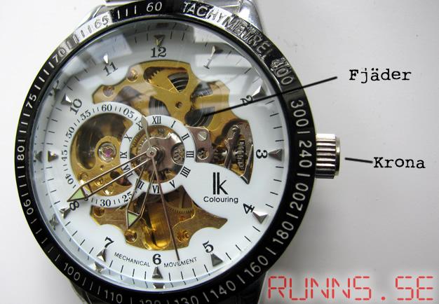 Hur fungerar en mekanisk klocka