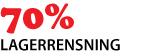 LAGERRENSNING - 70% REA