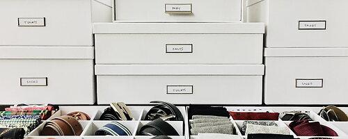 Organise like Marie Kondo