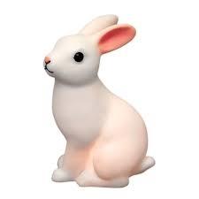Nattlampa kanin, led batteri