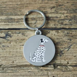 Hundbricka Dalmatin