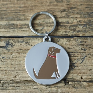 Hundbricka Labrador Retriever, brun