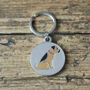 Hundbricka Border Terrier