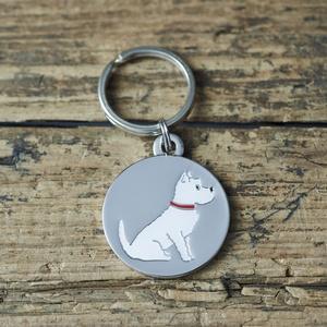 Hundbricka Westie/West Highland White Terrier