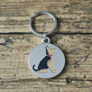 Hundbricka Yorkie/Yorkshire Terrier