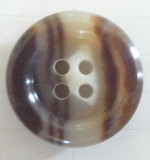 Knapp 4-håls J Brunmellerad 20,5mm