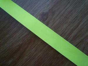 Reflexband 20mm Gul