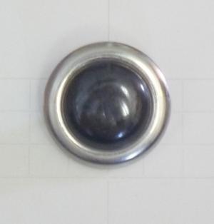 Metallknapp 1783 22mm silver/oxid