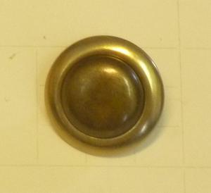 Metallknapp 1781 Mässingsoxid 16,5mm