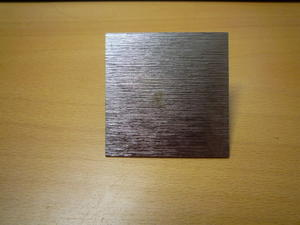 Dekorations platta Antiksilver Metall