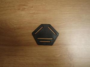 Bandfördelare 30mm Svart