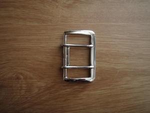 Metallspänne 45mm Förnicklad