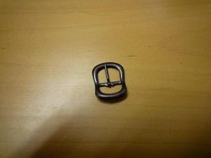 Bockat metallspänne i kopparoxid