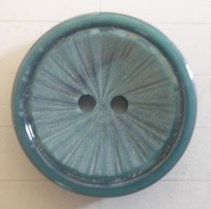 Knapp 2-håls 36 Blå 20,5mm