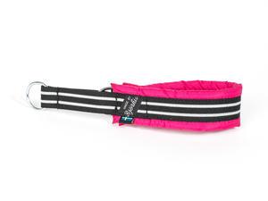 HALSBAND polstrad halvstryp med REFLEX, för mindre hundar, 20mm band