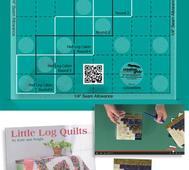 "Creative Grids Log Cabin Trim Tool 6"""