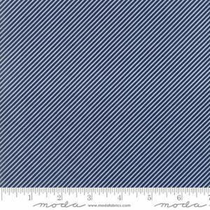 Moda Diagonal Stripe Blå