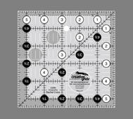 Linjal Creative Grids 5½ x 5½ Inch