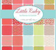 Moda Little Ruby Charm Pack 5""