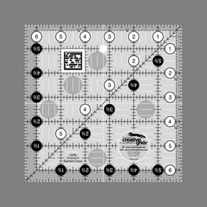 Linjal Creative Grids 6½ x 6½ Inch