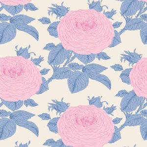 Tilda Sunkiss Grandmas Rose Blue
