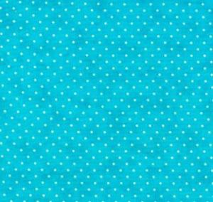 Moda Essential Dots Turquoise