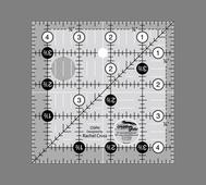 Linjal Creative Grids 4½ x 4½ Inch