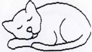 Quiltmall Sovande Katt