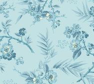 Something Blue  Bouquet Light Blue