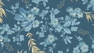 Something Blue  Bouquet  Dark Blue