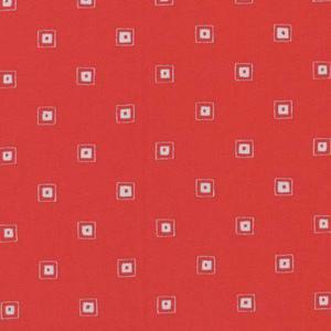 Lecien Röd Fyrkanter
