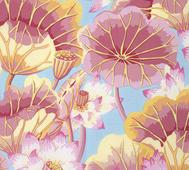Kaffe Fassett Lake Blossom Pink