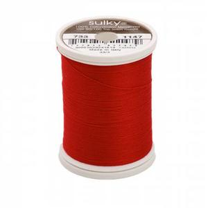 Sulky Cotton 30 Christmas Red