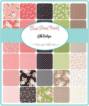 """Olive´s Flower Market Jelly Roll 2½"""""""