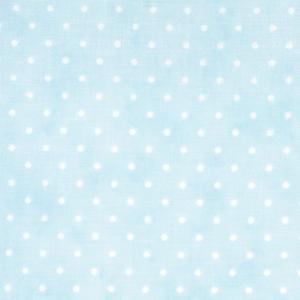 Moda Essential Dots  Baby Blue