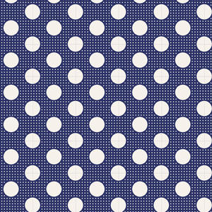 Tilda Medium Dot Night Blue