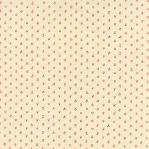 Moda Silver Linings Bloom Röd