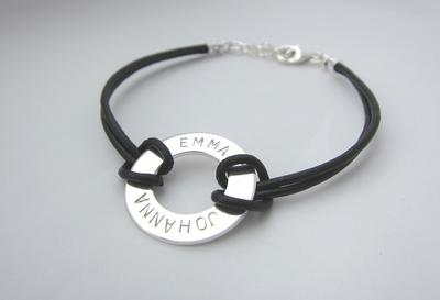 Armband med cirkel
