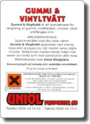 Gummi & Vinyltvätt 500 ml