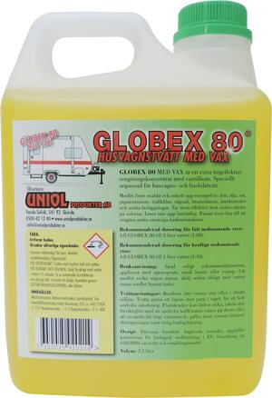 Globex 80 Husvagnstvätt med vax 4 liter