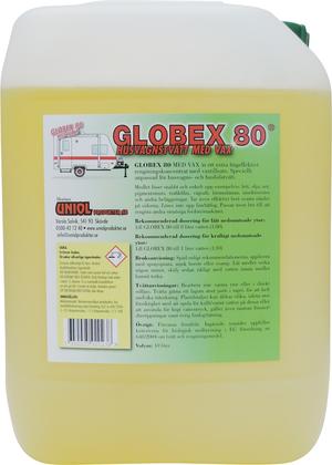 Globex 80 Husvagnstvätt med vax 20 liter