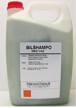 Bilshampo med vax 5L